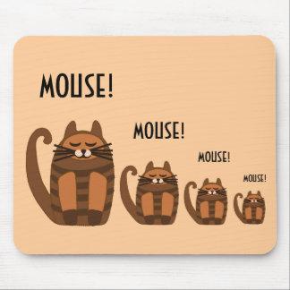 big fat cat rufus mouse! mouse pad