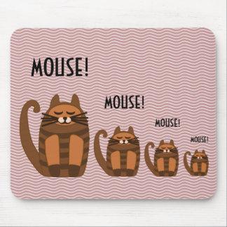 big fat cat rufus mouse! mousepads
