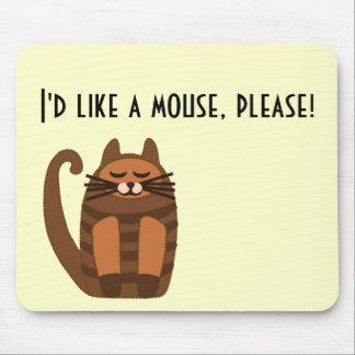 big fat cat rufus mouse pads