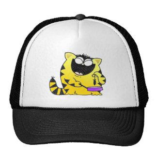 Big Fat Funny Cat Trucker Hat