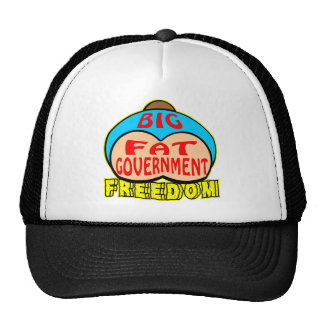 Big Fat Government Crushing Freedom Trucker Hat