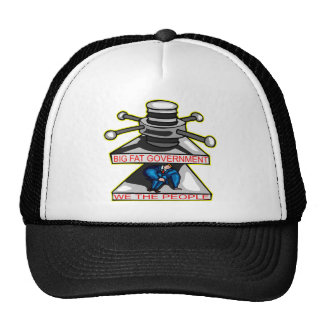 Big Fat Government Is Crushing We The People Trucker Hat