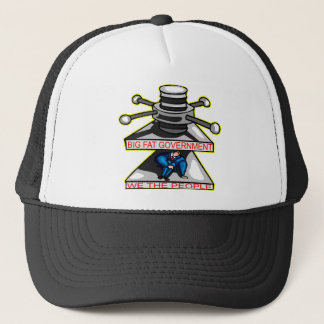 Big Fat Government Squeezing We The People Trucker Hat