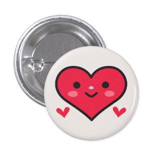 Big Fat Heart 1 Inch Round Button