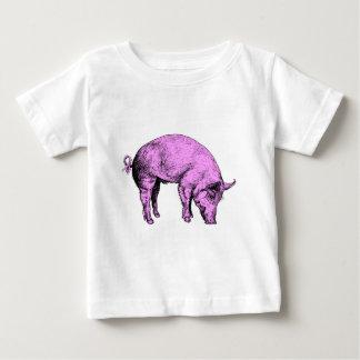 Big Fat Pink Pig Baby T-Shirt
