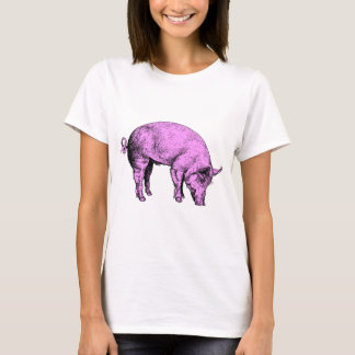 Big Fat Pink Pig T-Shirt