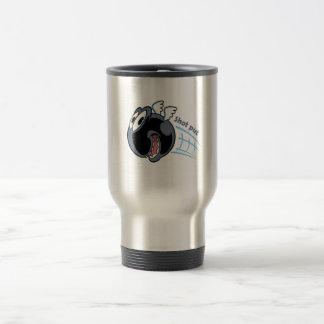 big fat shot put bird travel mug