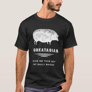 Big Fat Vintage Pork Lover's Pig T-Shirt