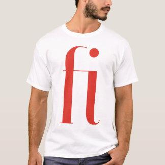 Big fi: Jeanne Moderno Lettres T-Shirt