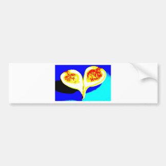 Big Fig Heart Bumper Sticker