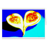 Big Fig Heart Greeting Cards