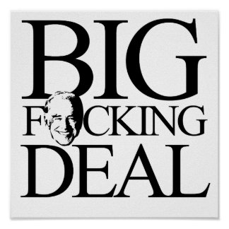 BIG FING DEAL - png Posters