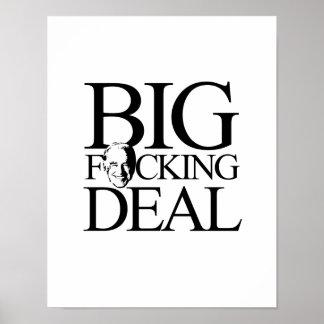 BIG FING DEAL - png Print