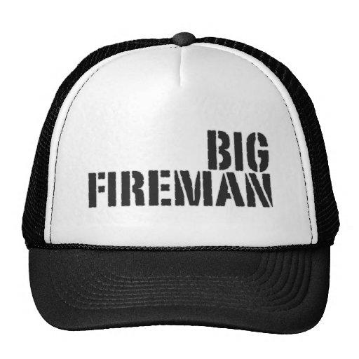 Big Fireman Trucker Hat