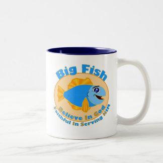 Big Fish Believe in God Mugs