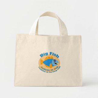 Big Fish Believe in God Tote Bag