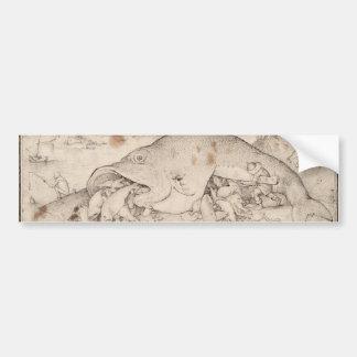 Big Fish Eat Little Fish by Pieter Bruegel Bumper Stickers
