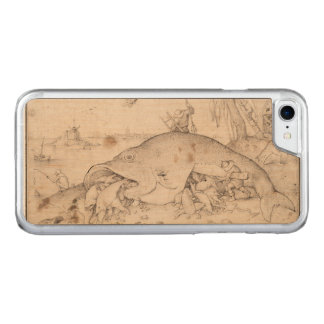 Big Fish Eat Little Fish by Pieter Bruegel Carved iPhone 7 Case