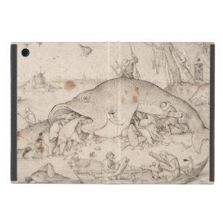 Big Fish Eat Little Fish by Pieter Bruegel iPad Mini Case