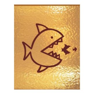 BIG fish eat  SMALL FISH Letterhead