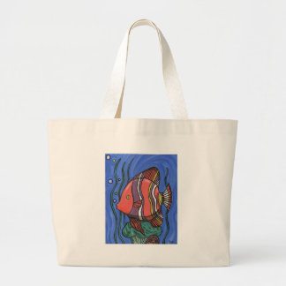 Big Fish Large Tote Bag