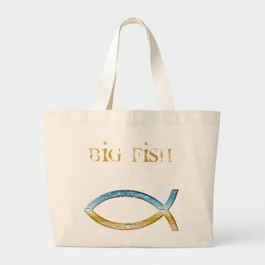 Big Fish Large Tote Bag