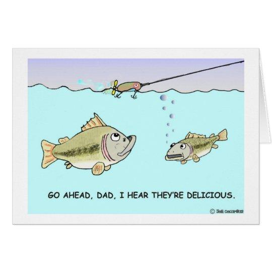 BIG FISH - LITTLE FISH  card
