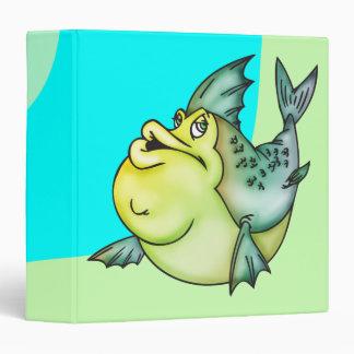 Big Fish Little Pond 3 Ring Binder