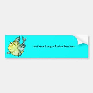 Big Fish Little Pond Bumper Sticker