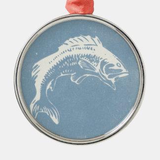 Big Fish Metal Ornament