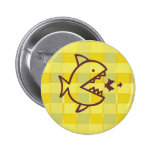 Big Fish Small Fish -  Cut Throat Competition 2 Inch Round Button