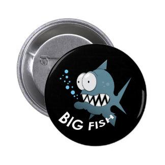 Big Fish - Standard, 2¼ Inch Round Button Button