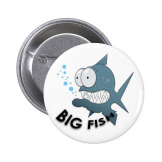 Big Fish - Standard, 2¼ Inch Round Button Pinback Button