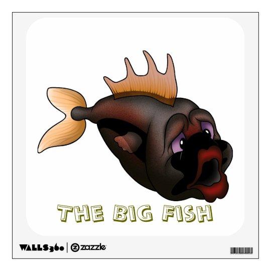 Big Fish Wall Decal