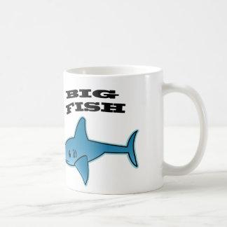 Big Fish - White 11 oz Classic White Mug