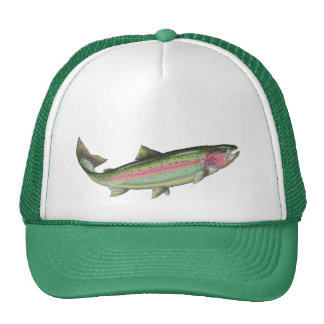 BIG FISHERMAN by SHARON SHARPE Trucker Hats