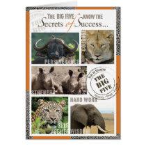 Big Five Success Card