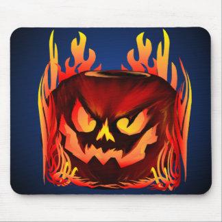Big Flaming Pumpkin_Mousepad Mouse Pad