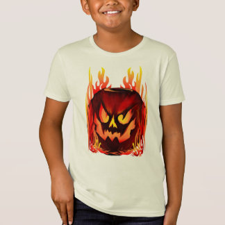 Big Flaming Pumpkin Shirt