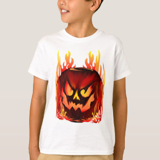 Big Flaming Pumpkin Shirts