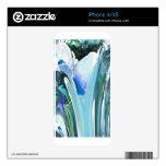 Big Flower Fractal Skins For iPhone 4S