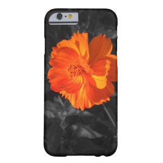 Big Flower Orange Barely There Iphone 6 Case