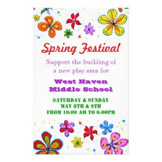 Big Flowers Custom Flyer flyer