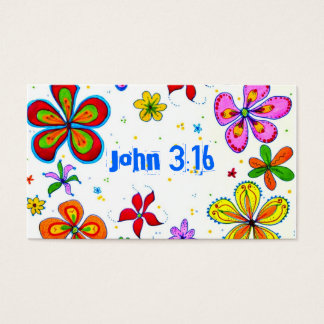 Big Flowers Scripture Memory Cards Bulk
