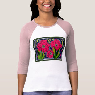 'BIG FLOWERS' T-SHIRTS by Brenda Phillips