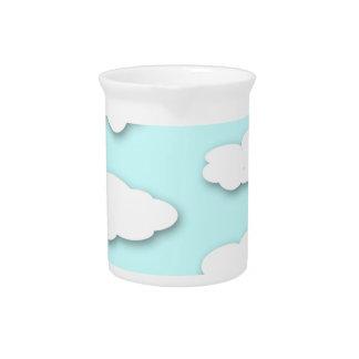 Big Fluffy Clouds Pitcher