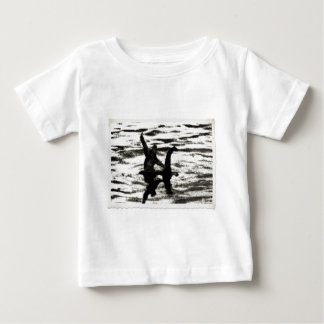 Big Foot and Bessie The lake monster sighting Baby T-Shirt
