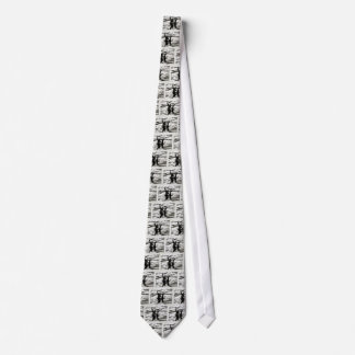 Big Foot and Bessie The lake monster sighting Neck Tie