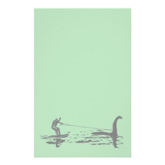 Big Foot and Nessie Stationery