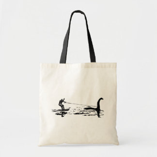 Big Foot and Nessie Tote Bag